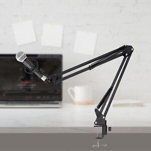 Mikrofonständer Set Profi-Tischstativ Microfon Halterung Mikrofonarm verstellbar