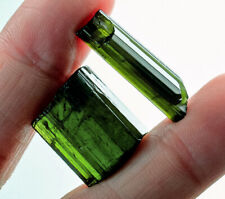 33.5Ct Natural Green Tourmaline Crystal Facet Rough Specimen YBGT1314