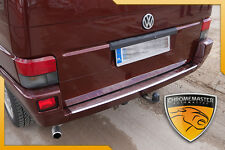 REAR BUMPER SILL PROTECTOR TRIM COVER STEEL VW Volkswagen T4 CHROME OMT
