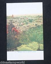 Vecchia cartolina Cina 42, vista generale di Canton, Cina, non usato