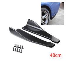 Car Accessories Bumper Spoiler Rear Lip Angle Splitter Diffuser Protector 2Pcs
