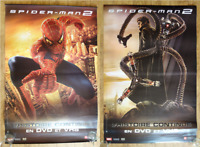 SPIDERMAN 2 original Double sided 4x3 ft VINYL BANNER movie poster DVD release