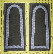 Schulterklappen Rangabzeichen Heer Stabsunteroffizier annähbar weiß oliv ##1850