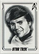 Star Trek 50th Anniversary ArtiFEX Emily Tester Chase Card A07 Ensign Chekov