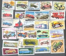 Cars & Motorised Vehicles Stamps 100 all different collection all types