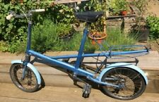 More details for 1964 moulton stowaway blue bicycle in very good condition.