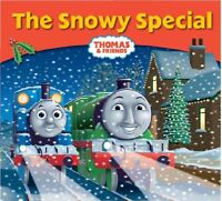 NEW - THOMAS and FRIENDS ( SNOWY SPECIAL ) small book STORY LIBRARY