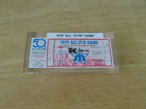 1979 MLB All-Star Game FULL Ticket SEATTLE MARINERS KINGDOME - PAPERWEIGHT