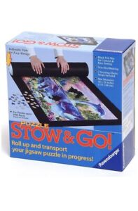 """Ravensburger STOW & GO Puzzle Storage Mat and Straps for 1500 pieces 46"""" X 26"""""""