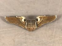 UNITED STATES AIR FORCE CSO / NAVIGATOR / OBSERVER STERLING SILVER WINGS