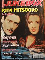 revue JUKEBOX MAGAZINE N°175 - RITA MITSOUKO C.TRENET  G.HARRISON ROLLING STONES