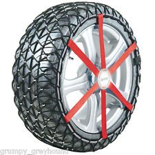 "NEW Michelin Easy Grip Snow Chain Winter Tyre Chains L13 6 42 12 2B 16"" 205/55"