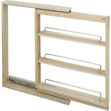 "Kitchen Cabinet-Base Cabinet Filler Pullout- 6"" x 23"" x 30""-Hard Maple-  # BFPO6"