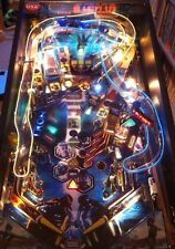 TRON Pinball Blue & Yellow Light Wire Kit Mod