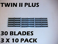 Personna Twin II Plus - 30 Blades (3 x 10 pack)