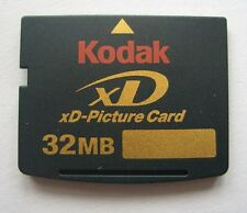 Kodak 32MB xD-Picture Card, XD Card 32MB for Olympus&Fujifilm, with plastic case