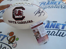 Jadeveon Clowney signed South Carolina Gamecocks football JSA COA USC Texans