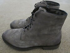 JOSEF SEIBEL Mens Addison Italian Suede Boots Shoes Size US 11 -11.5 EUR 45 NWB