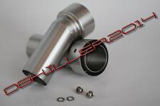 DB Killer, DB Eater für Akrapovic elliptische/ovale Dämpfer D53mm, Auslass D38mm