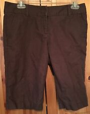 J Crew Women's Size 4 City Fit Shorts Brown New W/O Tags