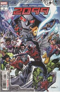 2099 Alpha #1 Main Cover New/Unread 2020 Marvel Comics