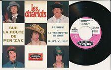 """LES CHARLOTS 45 TOURS EP 7"""" FRANCE SUR LA ROUTE DE PEN'ZAC"""