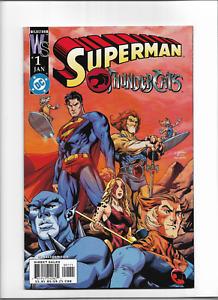 Superman Thundercats #1 VF+ DC (2004) -One Shot Team Up Superman And Thundercats