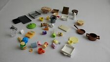 Sylvanian Families Spare Food Items Accessories Spares Dolls House Juice Table