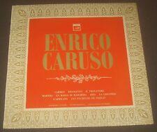 Caruso -  Bizet Verdi Flotow Ponchielli meyerbeer SAGA FID 2063 1967 LP EX