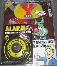 """YPS 1271 = 5/2015 OVP mit Gimmick """"Alarm für die Schublade"""" mit Survival-Guide"""