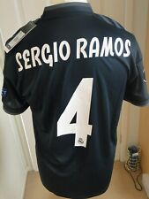 ** SERGIO RAMOS **REAL MADRID CHAMPIONS LEAGUE AWAY SHIRT 2018-19 BNWT MEDIUM