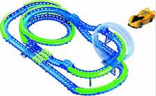 Wave Racers Epic Challenge  Auto Rennbahn mit Doppeldeckerspirale NEU OVP