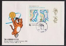 Olympics Used First Day Cover Asian Stamps