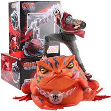 Naruto Shippuden Jiraiya Gama Bunta PVC Action Figure Collectible Model Toy HOT