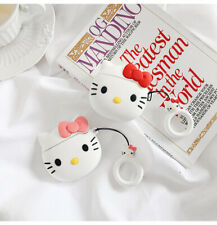 Cute Hello Kitty Silicone Earphone Charging Case Cover For AirPods 2 1 Pro