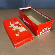 Empty Orange Nike Shoe Box Monterey 12331 S/NB 10.5 Vintage 80s Running Korea