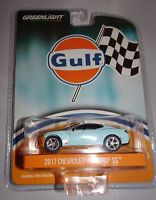 Greenlight 51059 2016 Chevy Camaro Gulf Oil Hobby Exclusive 1:64 Scale Diecast