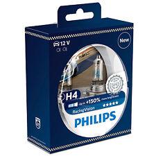 Philips Racing Vision RacingVision +150% H4 Headlight Bulbs (Twin) 12342RVS2