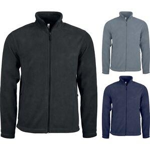 Mens Kariban 100% Polyester Full Zip Microfleece Jacket Top