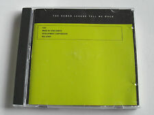 The Human League - Tell Me When CD2 Mixes (CD 5 Track) Used Very Good