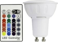 TCP SmartLED Colour Changing GU10 Bulb with Remote Control NEW FREEPOST