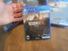 Resident Evil 7 Biohazard PS4 Sony BRAND NEW FACTORY SEALED CAPCOM