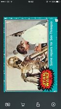 Topps Star Wars Card Trader 1977 Remaster Insert #27 Some Repairs For C3PO