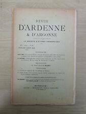 Revue d'Ardenne & d'Argonne 07-08/1910 N°5 Beauchot, Thionville, Reims