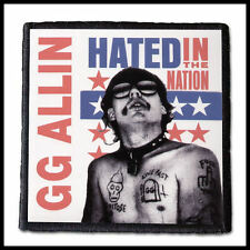 GG ALLIN - Hated in the Nation  ---- Patch / Aufnäher