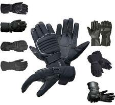 Gants en matière respirante en cuir pour motocyclette