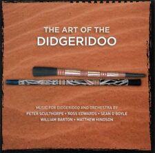 THE ART OF THE DIDGERIDOO - William Barton & Matthew Doyle CD *NEW*
