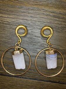 brass ear weights