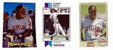 (3) Albert Belle Odd-Ball Trading Card Lot