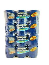Armour Vienna Sausage Original 4.6 Ounce (Pack of 24) BEST BY: 04/2023